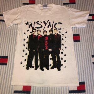 2001 NSYNC tour tee shirt